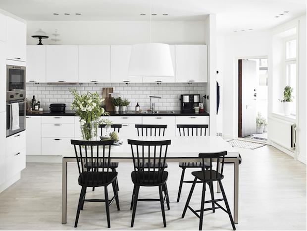 01 cocina comedor gris blanco negro nordico decoratualma dta