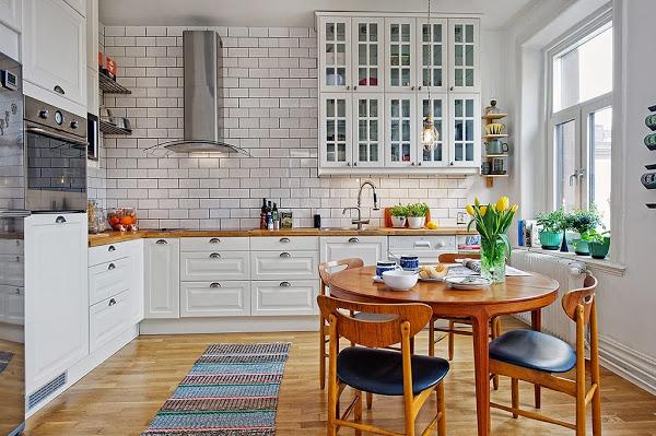 El coraz n de una casa decoratualma - Cocinas con parquet ...