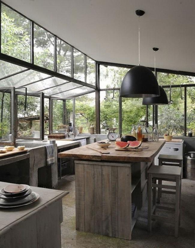 cocina,cristalera,madera,nórdica