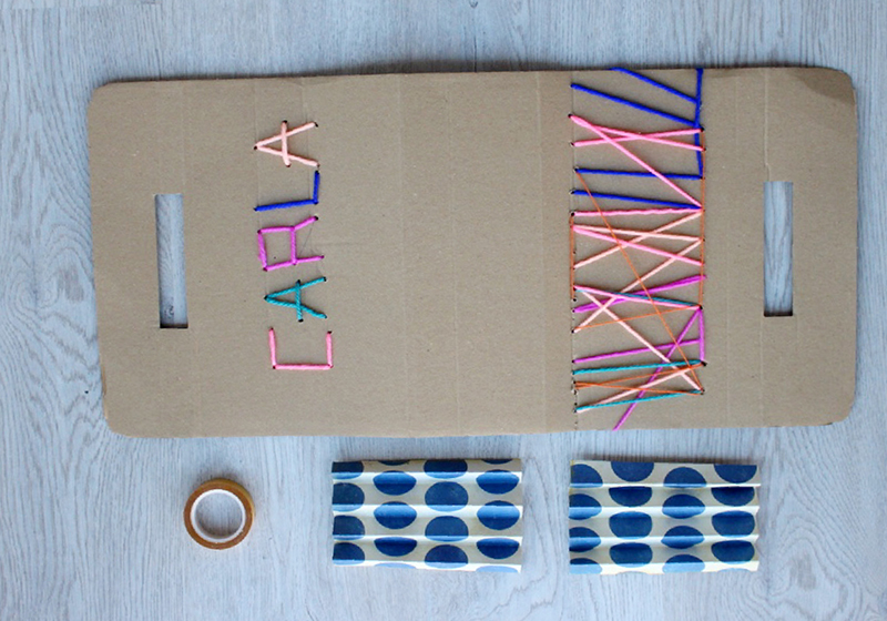 DIY cestos de carton6