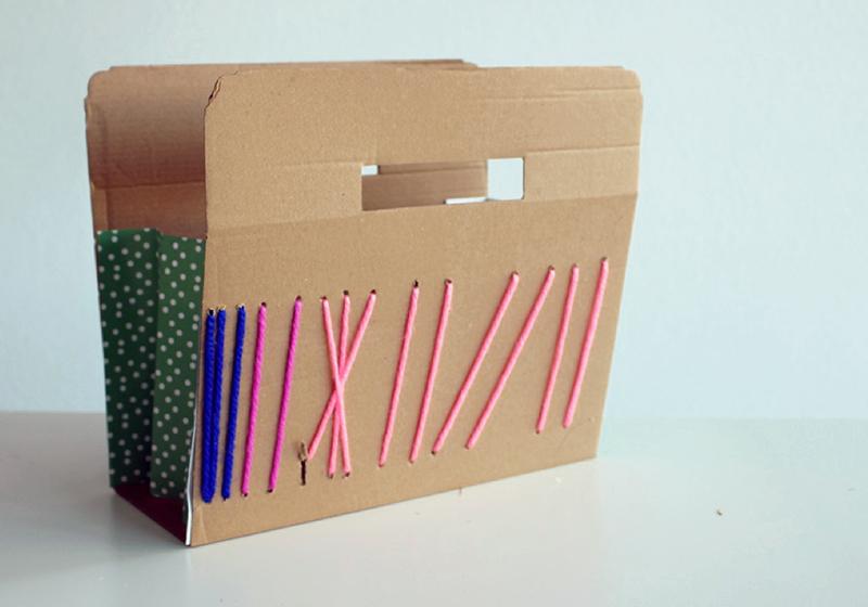 DIY cestos de carton7