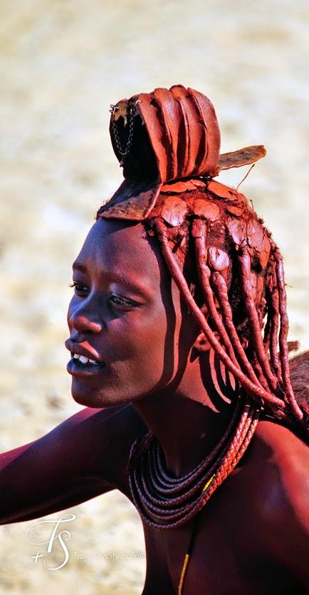 mujer,africana,áfrica,rojizo