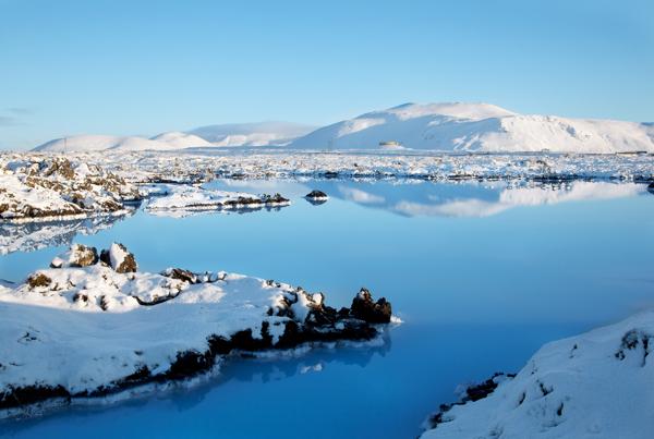 blue lagoon,agua,nieve,volcánico