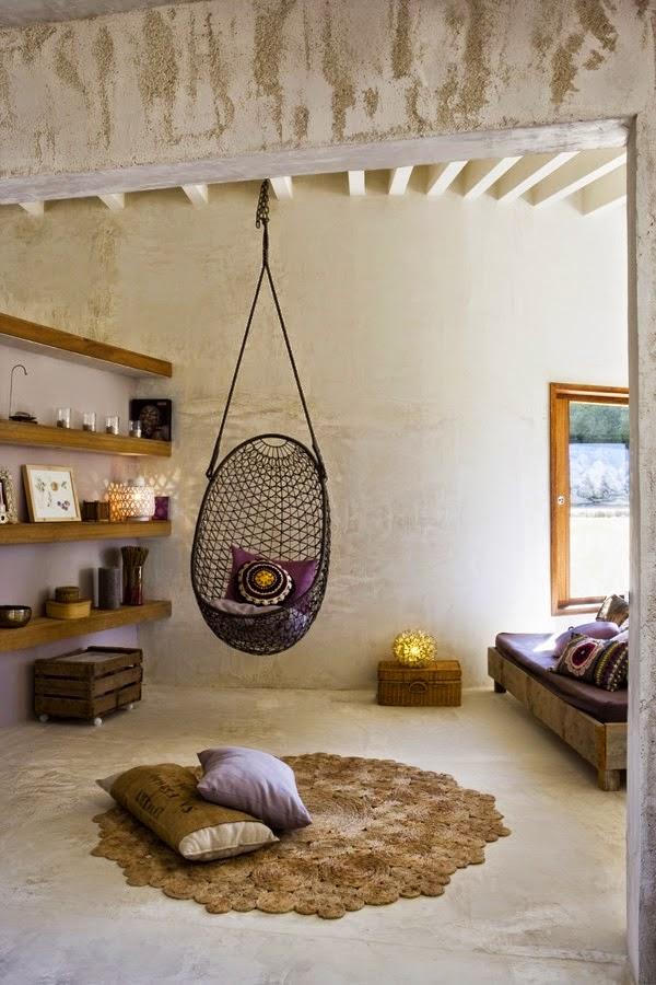 silla en suspensión,alfombra,madera