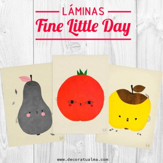 Rebajas Decoratualma Láminas de Fine Little DAY - DTA