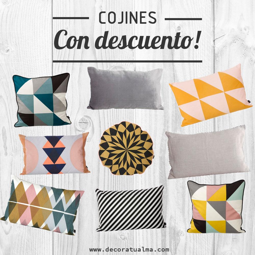 Rebajas decoratualma.com DTA cojines bien mulliditos de todos los colores y sabores! DTA