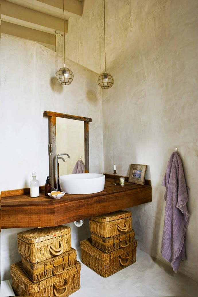 baño,madera,cestas,toalla,esparto