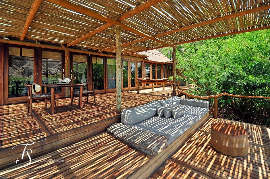 terraza,techo,sofás,mullido