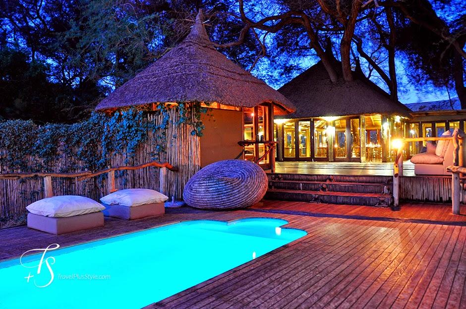 piscina,iluminada,iluminación,cabañas, parket