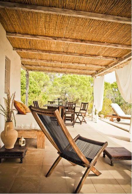 tumbonas,porche,madera