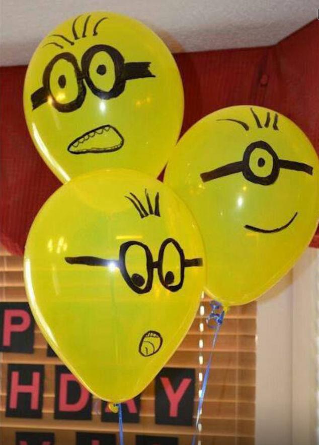 globo,minions,amarillo,gafas