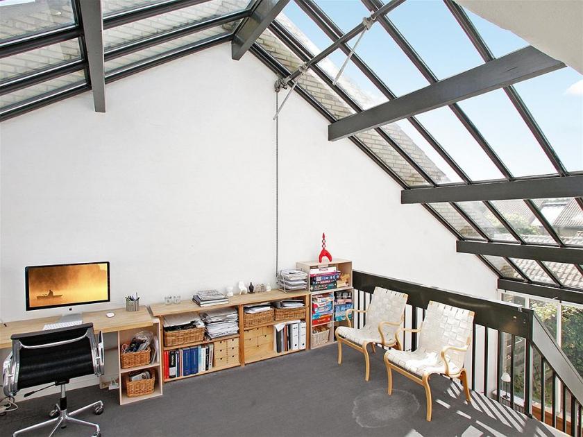 8 buhardilla estudio techo cristalera Decoratualma DTa