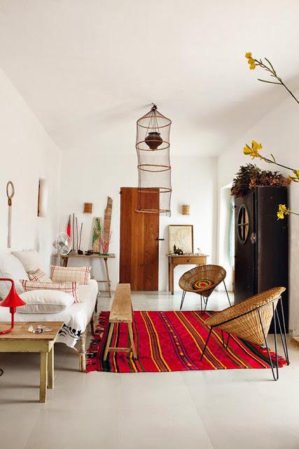 sala,salón,sillas,esparto,alfombra,sofa