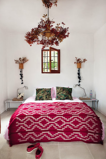 dormitorio,étnico,