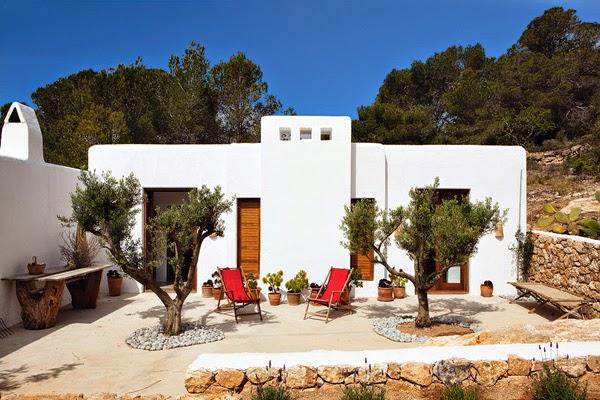 casa,blanca,piedra,arboles