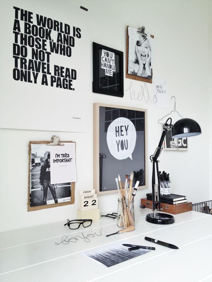 espacio de trabajo con mensajes decoratualma dta