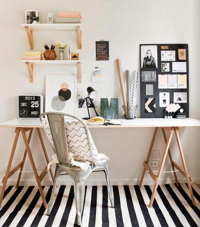 espacio de trabajo con tolix decoratualma dta