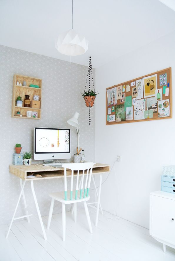 espacio de trabajo mint blanco decoratualma dta