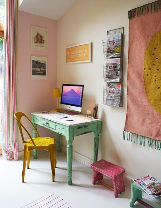 Espacios de trabajo para la vuelta al cole decoraci n Decoracion de espacios de trabajo