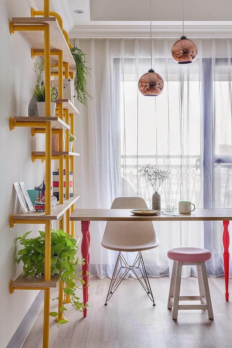 5 estanter as diy con estilo decoratualma - Estanterias de colores ...