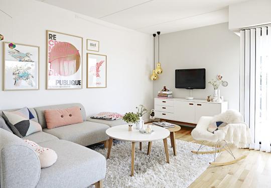 salón,rosa,blanco,gris