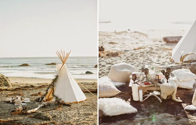 tienda,campaña,blanca,arena,playa,mesita,cojines
