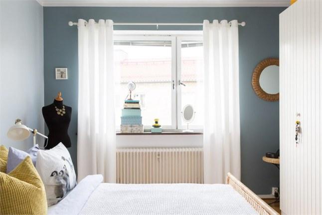 Estudio chic de 50 metros cuadrados decoratualma for Dormitorio 12 metros cuadrados