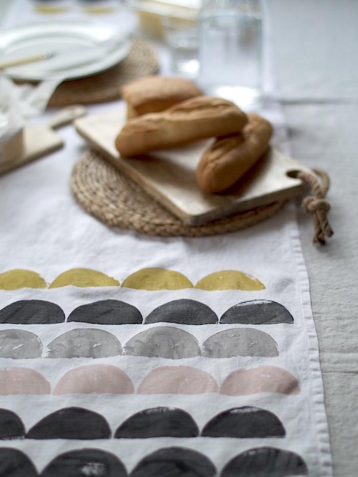 Cubremantel mantel de centro DIY manualidad decoratualma DTA 2