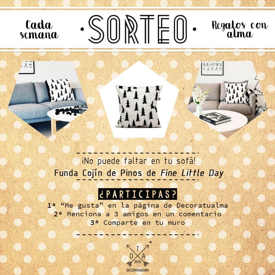 Sorteo: un cojín para tus noches de peli, manta y sofá