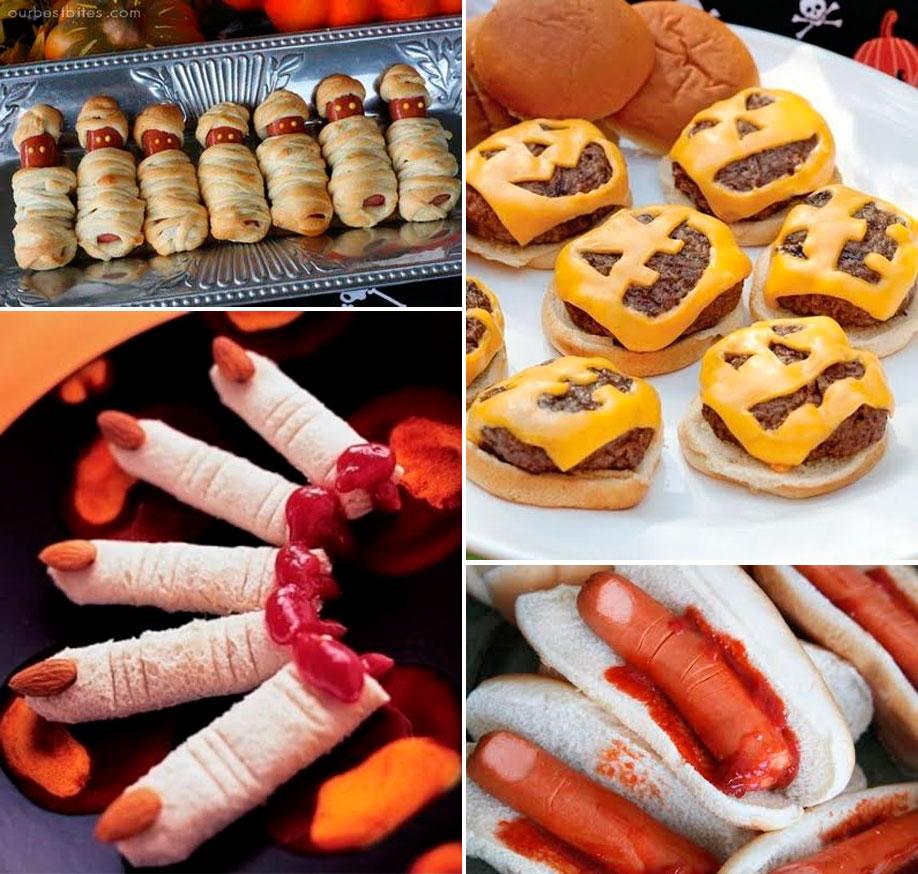 hamburguesas,salchichas,hot dogs
