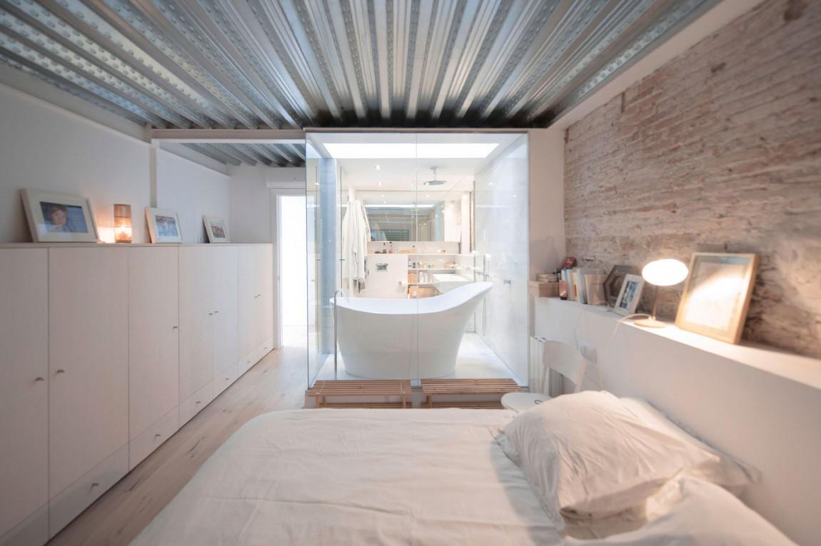 Baño dormitorio Hipster