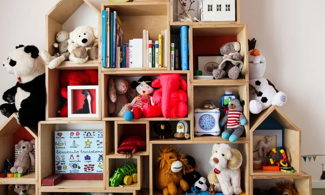 20 mural con casitas peluches infantiles decoratualma