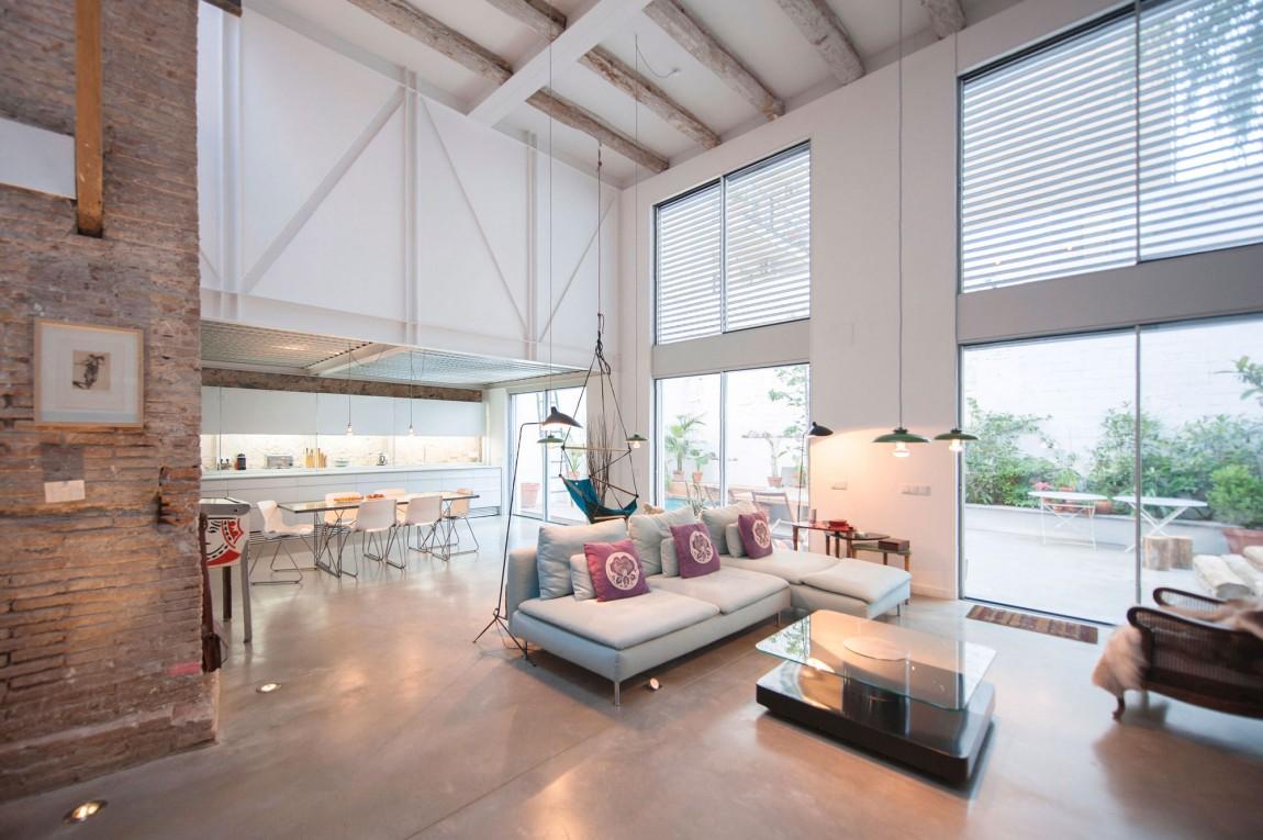 4 hipster living room salon zona de esta decoratualma dta casa loft