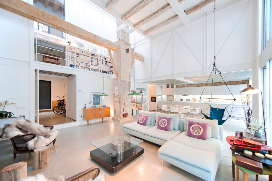 5 hipster living room salon zona de esta decoratualma dta casa loft comedor cocina