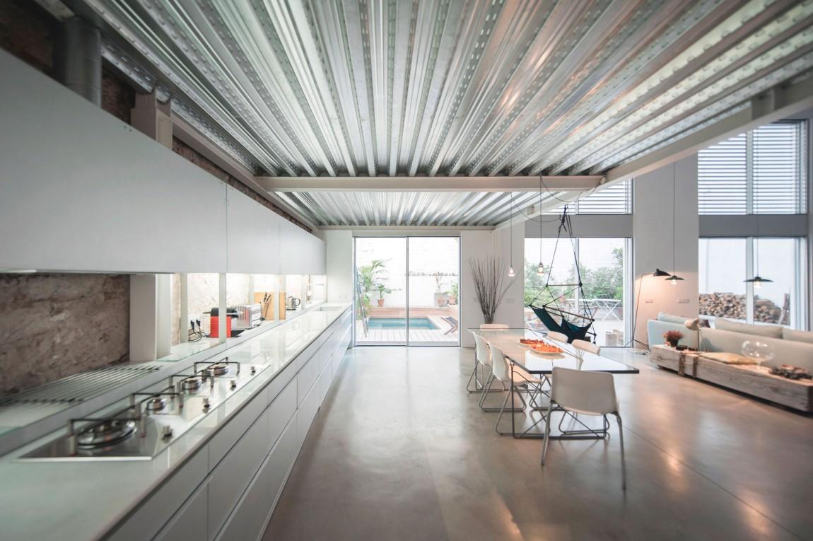 Cualquier hipster so ar a con vivir aqu decoratualma for Casa moderna tipo loft
