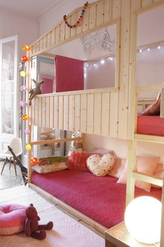Dormitorio infantil aprovechando el espacio vertical decoratualma dta