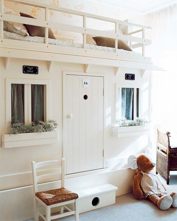 Dormitorio infantil con casita decoratualma dta
