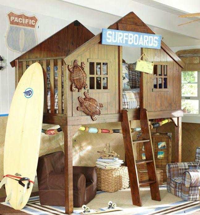 Dormitorio infantil surfero decoratualma dta