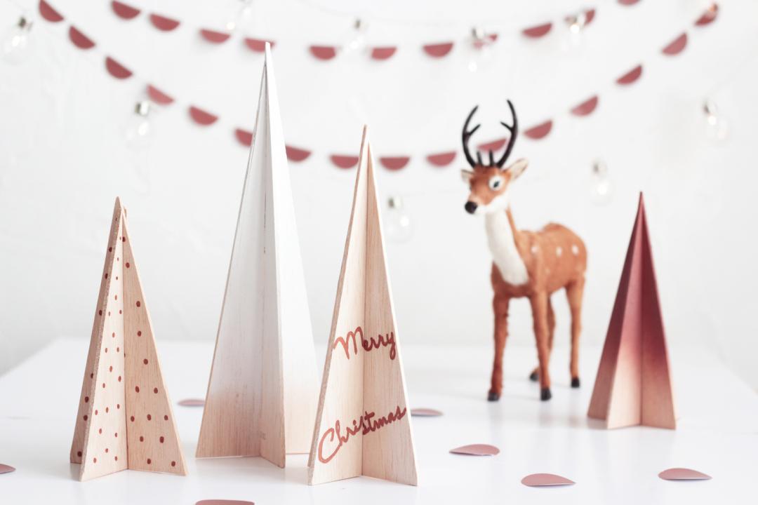 arboles de navidad madera de balsa decoratualma dta 1