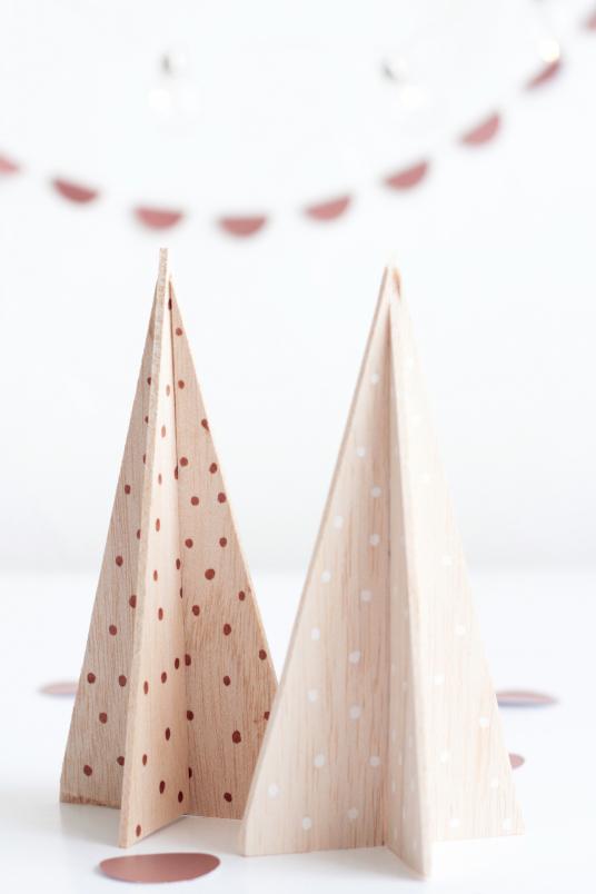 arboles de navidad madera de balsa decoratualma dta 2