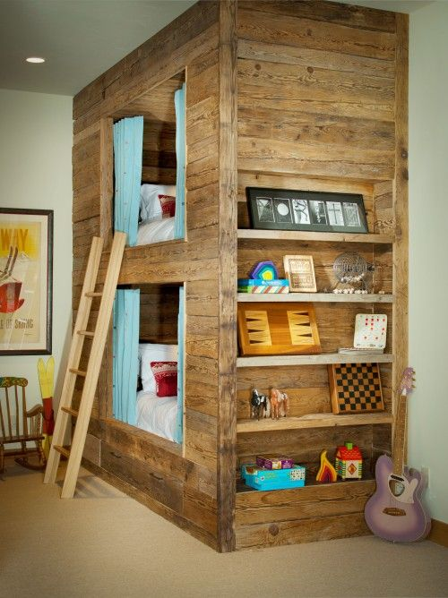 dormitorio infantil de madera reciclada decoratualma dta