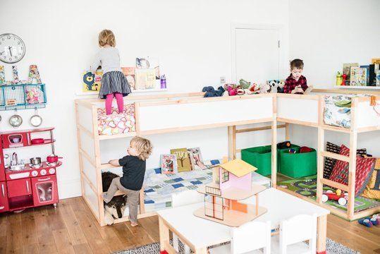 niños peques cuarto infantil camas dormir descanso decoratualma dta