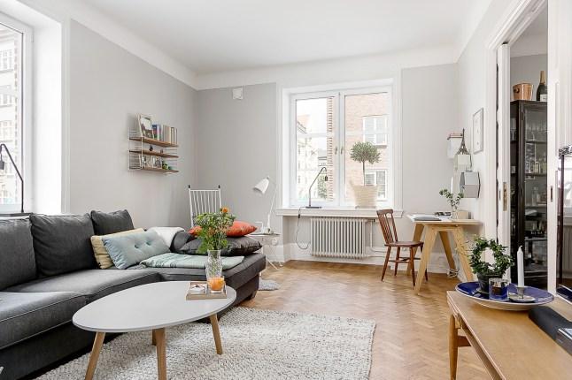 N rdico e industrial una combinaci n posible decoratualma for Salon comedor estilo nordico