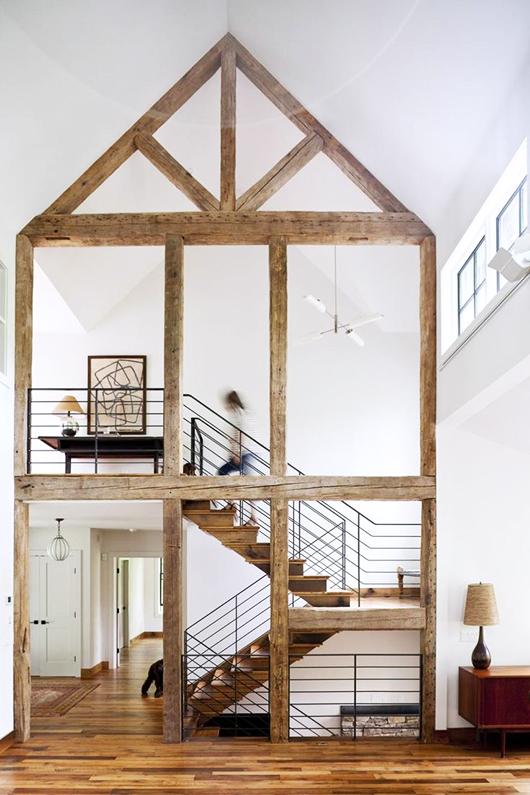 Casa con estructura madera decoratualma