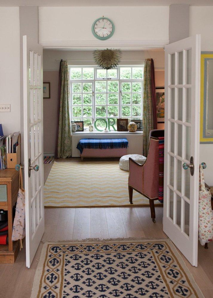 16 acceso cocina salón comedor decoratualma doble puerta francesa