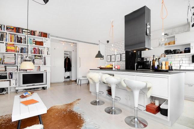6 cocina con barra isla y taburetes decoratualma dta