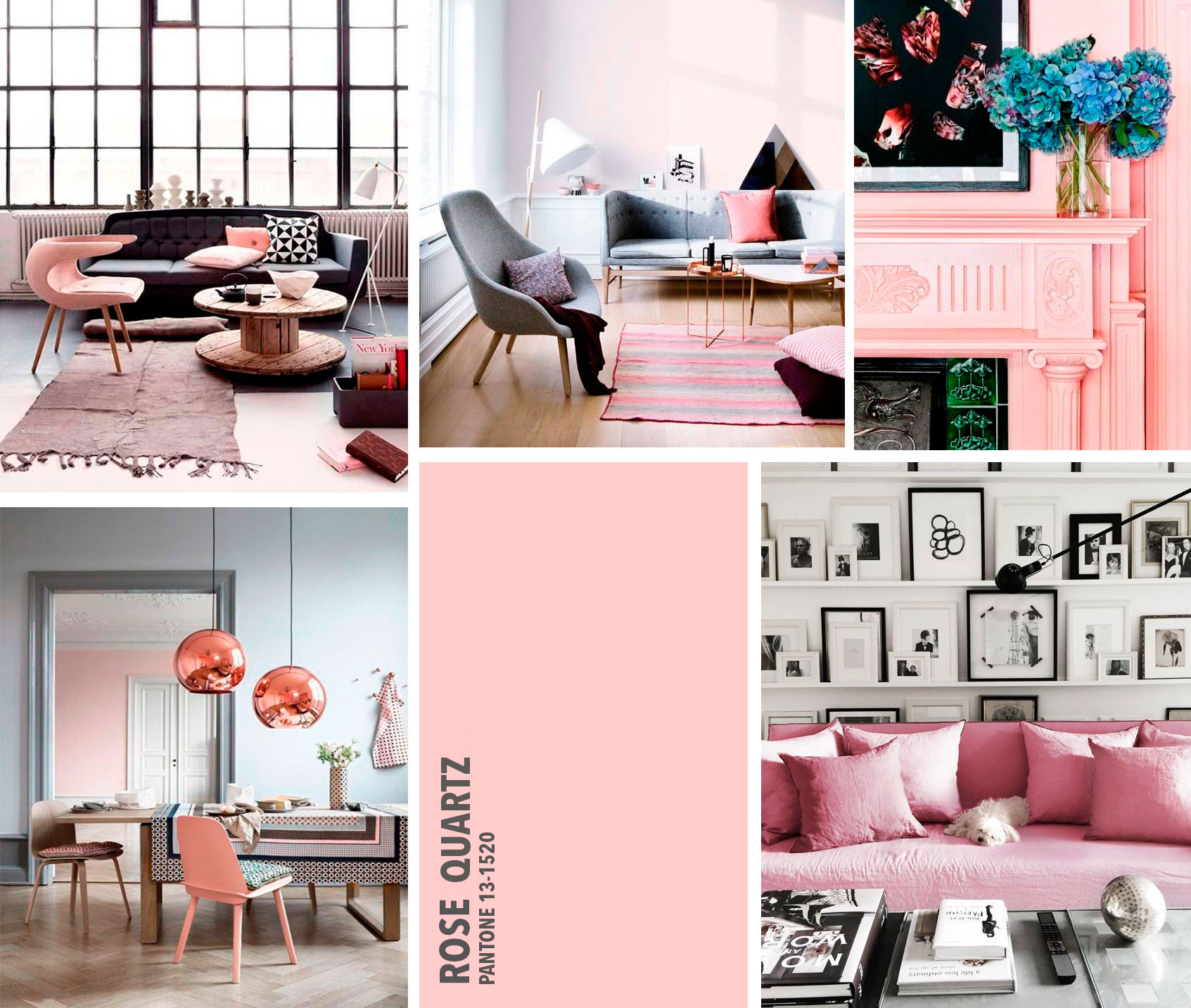 Dta rosa serenidad rose serenity color 2016 tendencias for Decoracion tendencias 2016