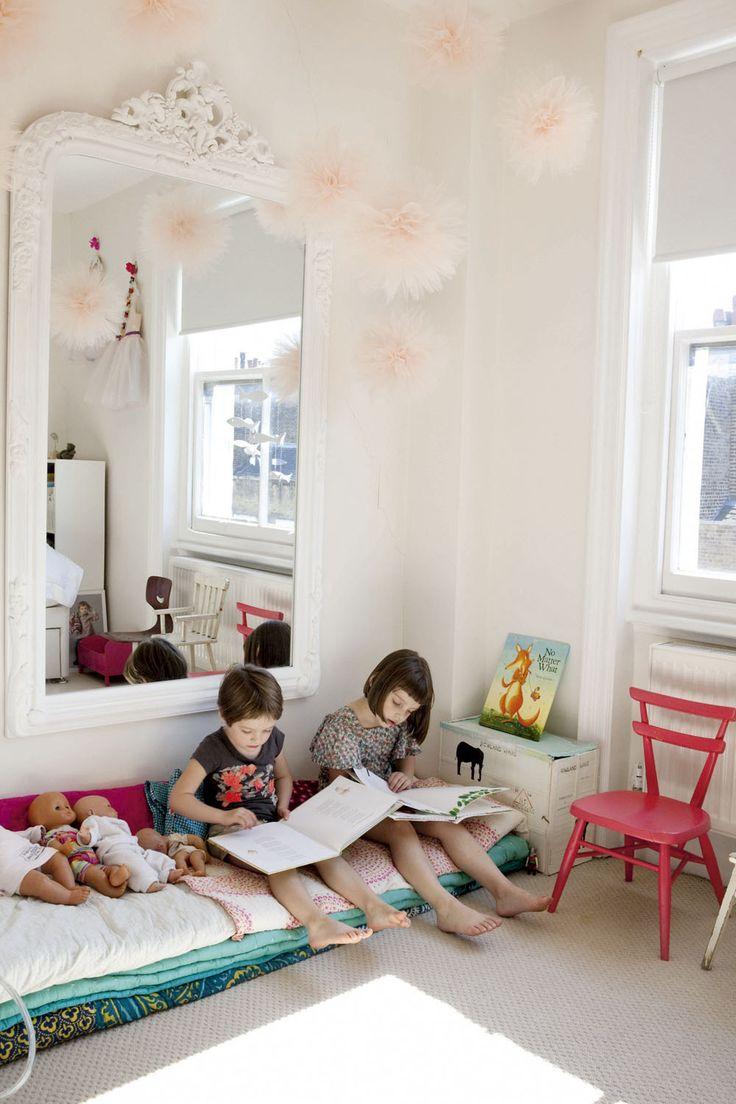 espacio de lectura infantil decoratualma