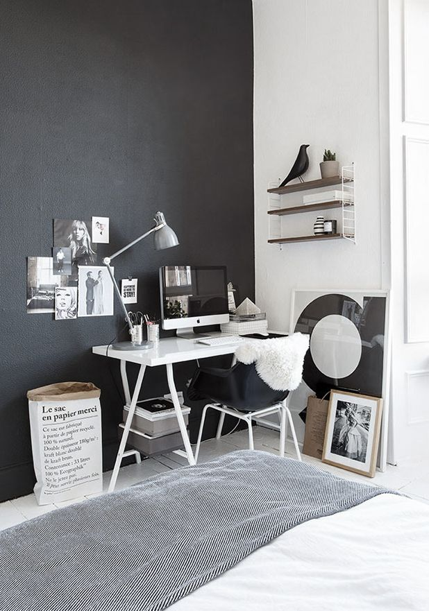 espacio trabajo le sac en papier string eames housebird decoratualma dta