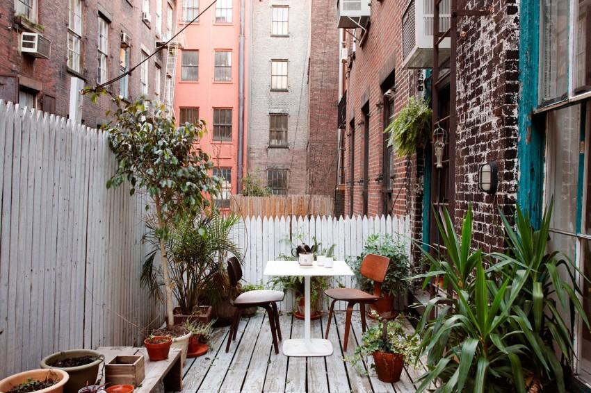 0 patio interior